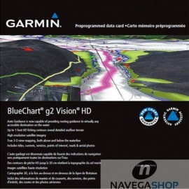 CARTOGRAFIA GARMIN BLUECHART G2 VISION SMALL
